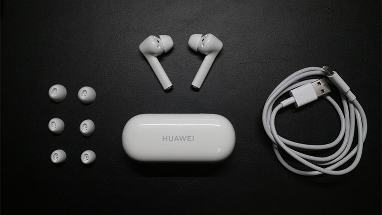 HUAWEI FreeBuds 3iの付属品