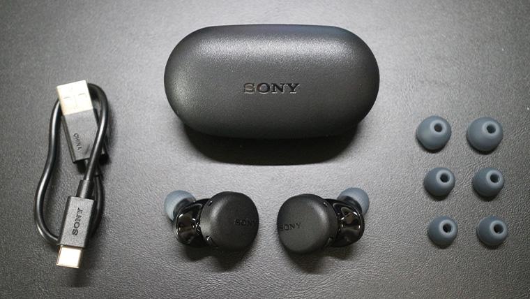 ソニーWF-XB700の付属品