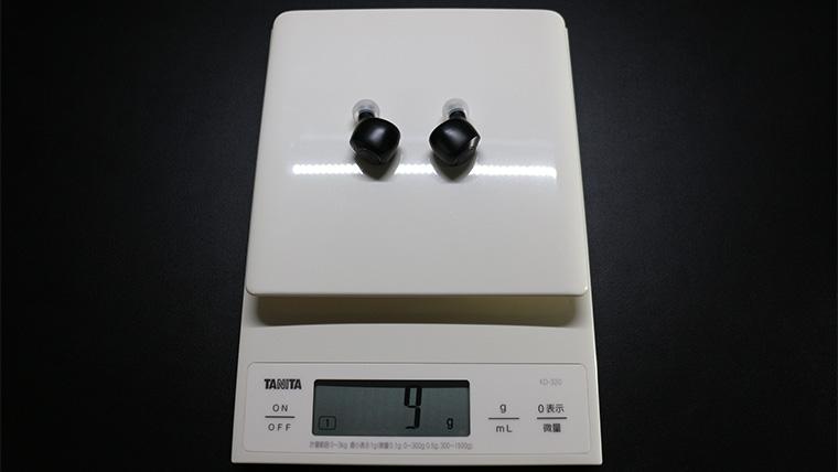 ag TWS04Kの重量