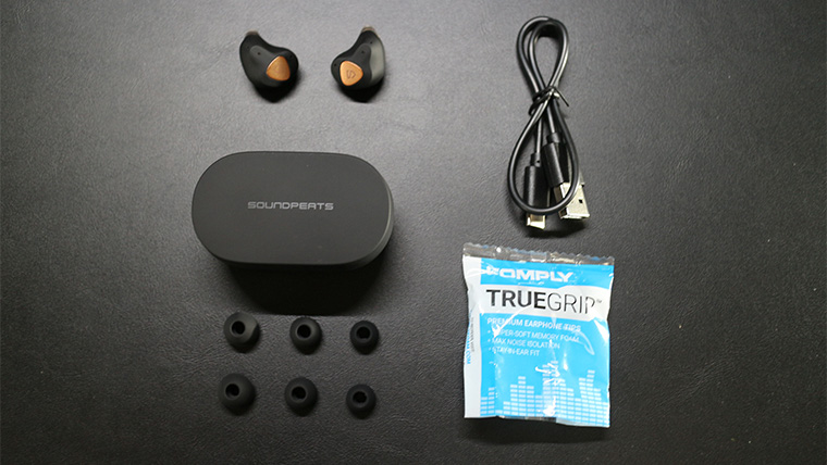 SoundPEATS Truengine3SEの付属品