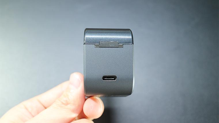 TE-D01gvの充電端子はType-Cを採用